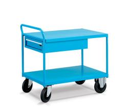Dvouplošinové vozíky