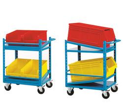 Odkládací vozíky nízké