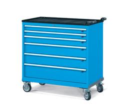 Pojízdné zásuvkové skříně 1098x574mm