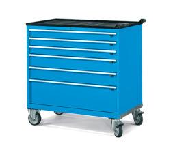 Pojízdné zásuvkové skříně 1098x727mm