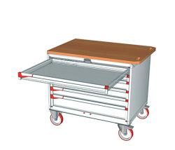 Pojízdné zásuvkové skříně 1100x752mm