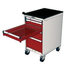 Pojízdné zásuvkové skříně 587x647mm