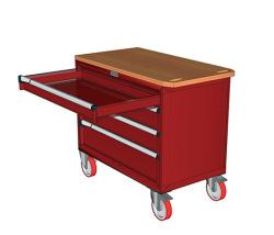 Pojízdné zásuvkové skříně 947x752mm