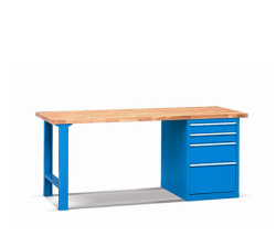 Pracovní stoly - deska buková spárovka