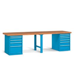 Pracovní stoly široké 3000 mm