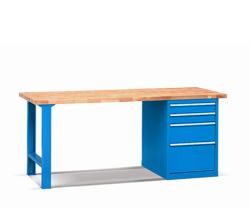 Pracovní stoly - buk šířka 1500 mm