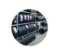 Regály na pneumatiky bezšroubové