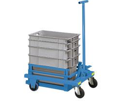 Vozíky pro transport přepravek a zásobníků