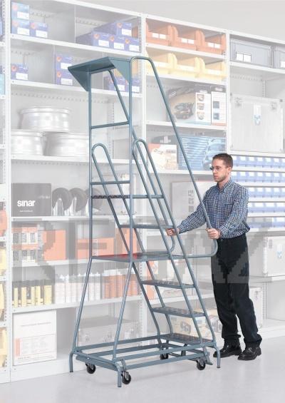 Odkládací polička pro pojízdné schody