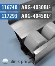 Hliníková krajní vodící lišta (pro sérii 40)