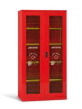 Bezpečnostní skříň pro osobní ochranné pomůcky a zařízení požární ochrany