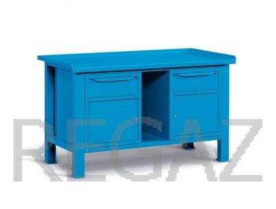 Ocelový stůl montovaný š.1507mm