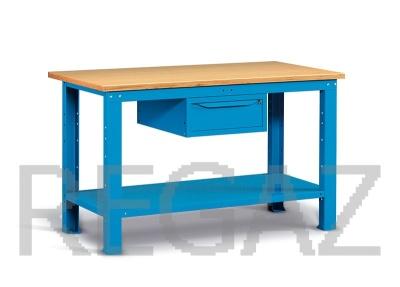 Ocelový stůl montovaný š. 1500mm