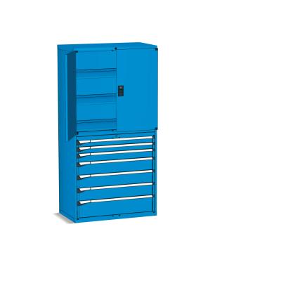 Zásuvková skříň MASTER s křídlovými dveřmi
