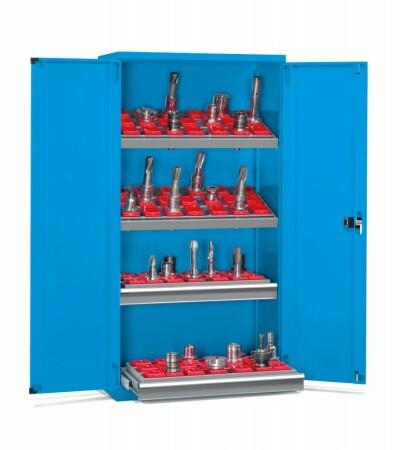 Nástrojová skříň s křídlovými dveřmi