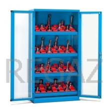 Nástrojová skříň s polykarbonátovými dveřmi