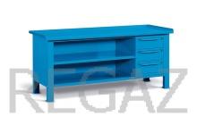 Ocelový stůl montovaný š. 2007mm