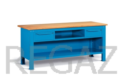 Ocelový stůl montovaný š. 2000mm
