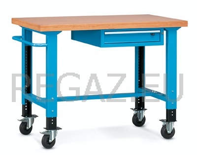 Pojízdný stůl univerzální š.1300mm