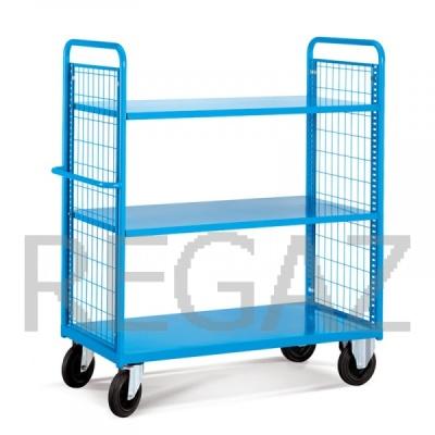 Manipulační vozík s kovovou základnou