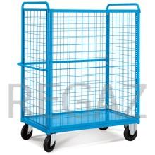 Manipulační vozík s odnímatelným bočním sítem