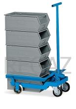 Vozík pro zvedání a transport kontejnerů vel. 4