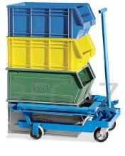 Vozík pro zvedání a transport kontejnerů vel. 5