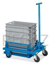 Vozík pro zvedání a transport kontejnerů série Minerva
