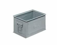 Kovový stohovací box