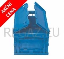 Skládací stohovací box s víkem - akční cena