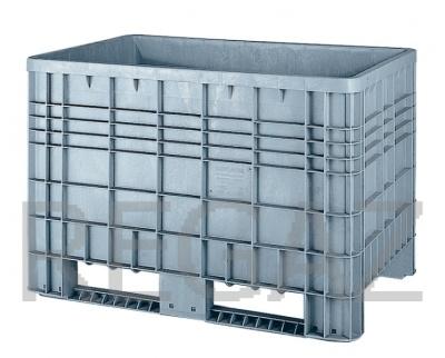 Plastová velkoobjemová paleta - Bigbox G5 s ližinami
