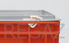 Pár nylonových uzavíracích klipsů pro přepravky Athena, Thema