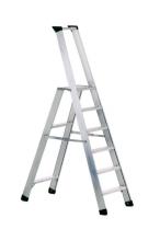 Stupňový stojací žebřík Seventec 311 s bezpečnostní plošinou
